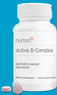 Bottle of Active B-Complex with tablets