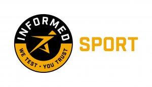 Informed SPORT we test - you trust logo